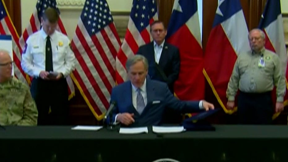 Texas announces new travel restrictions