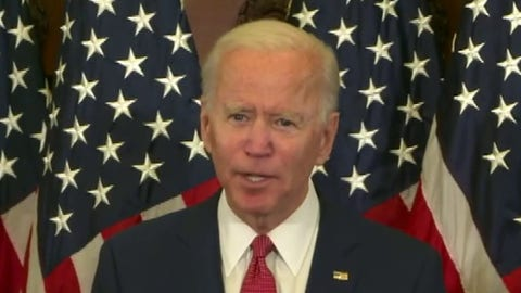 Joe Biden slams President Trump's response to civil unrest