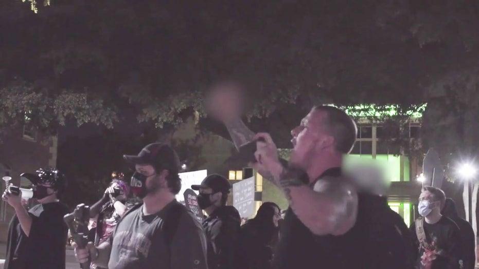 Antifa protesters disrupt Texas college campus pro-life prayer vigil: 'F*** your God!'