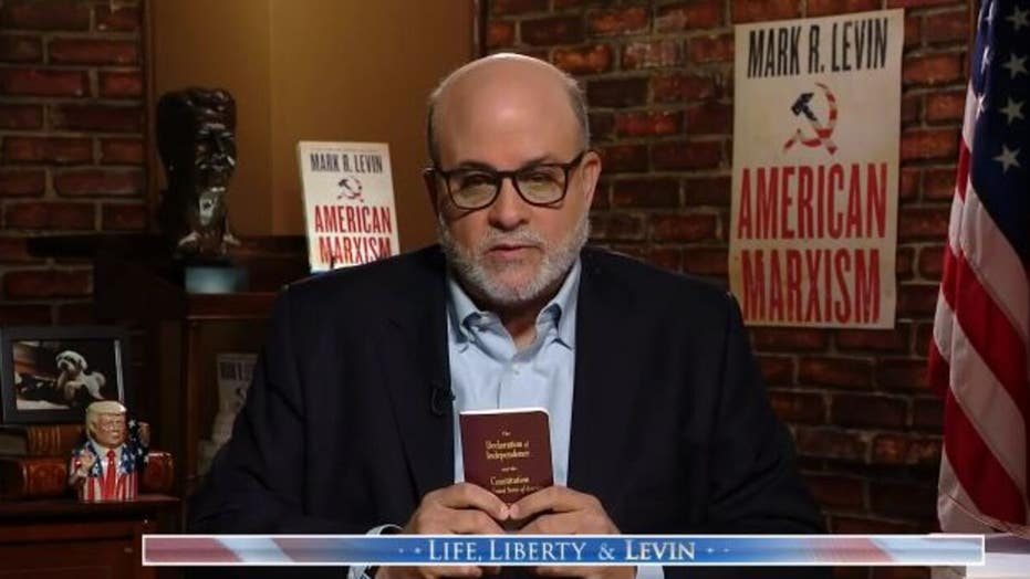 Mark Levin asks what happens when the government becomes 'a criminal enterprise'