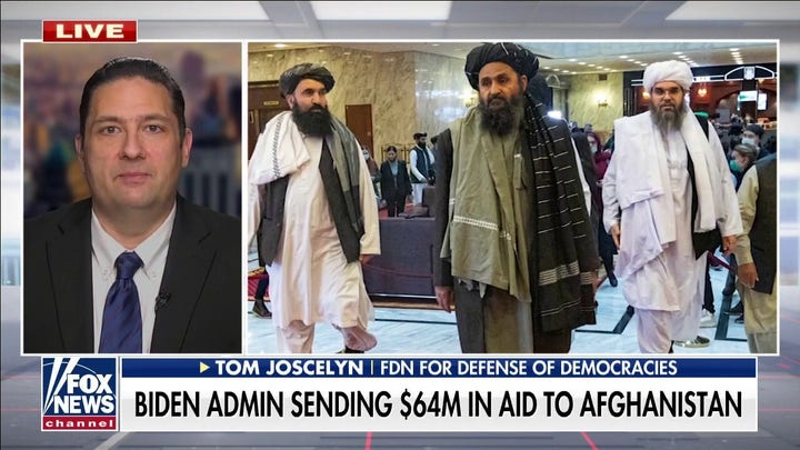 Taliban denies reports of infighting as US sends Afghanistan $  64 million in aid