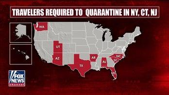 New York, New Jersey, Connecticut add Hawaii, South Dakota, Virgin Islands to quarantine list