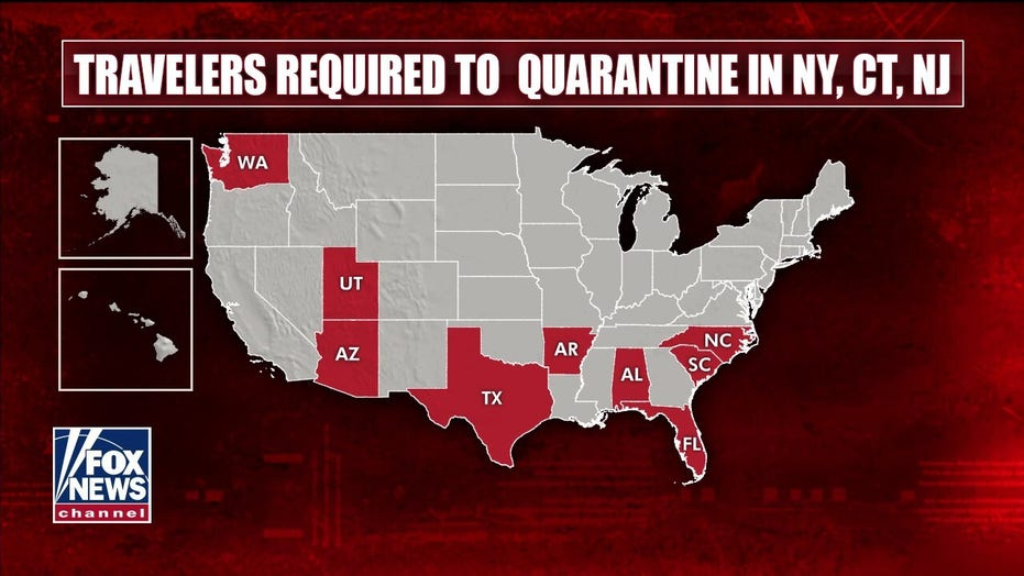NY, NJ, CT order travelers to quarantine, is it warranted?