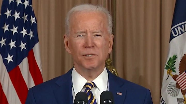 Biden declares 'America is back' in first foreign policy speech