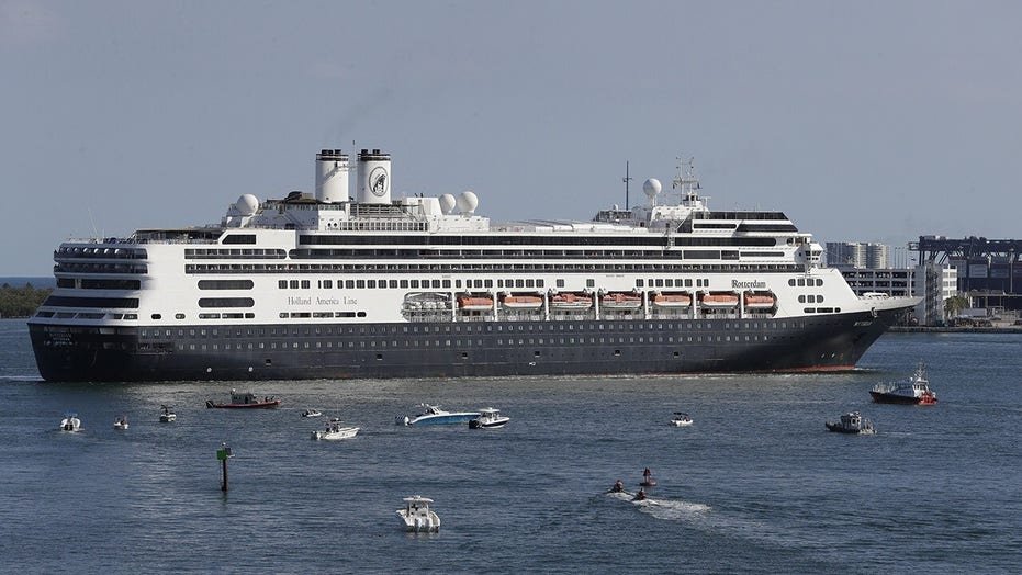COVID-19 hit cruise ships dock in Florida, healthy passengers to disembark
