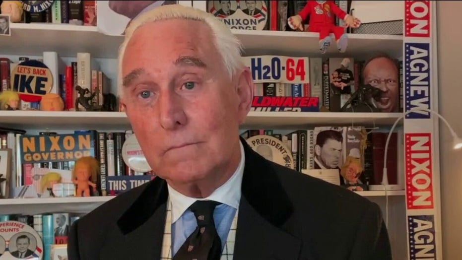 Roger Stone reacts to pardon, calls Trump 'greatest president since Abraham Lincoln'