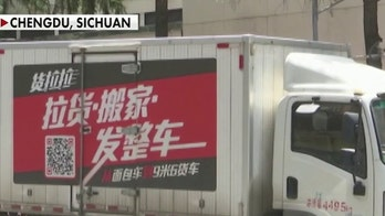 Moving trucks spotted at US consulate in Chengdu