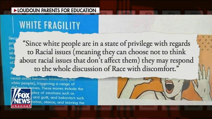 Evidence of race indoctrination in Virginia classrooms is clear, Loudoun County parent says