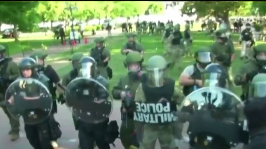 Judge tosses most claims over clearing protesters in DC's Lafayette Square