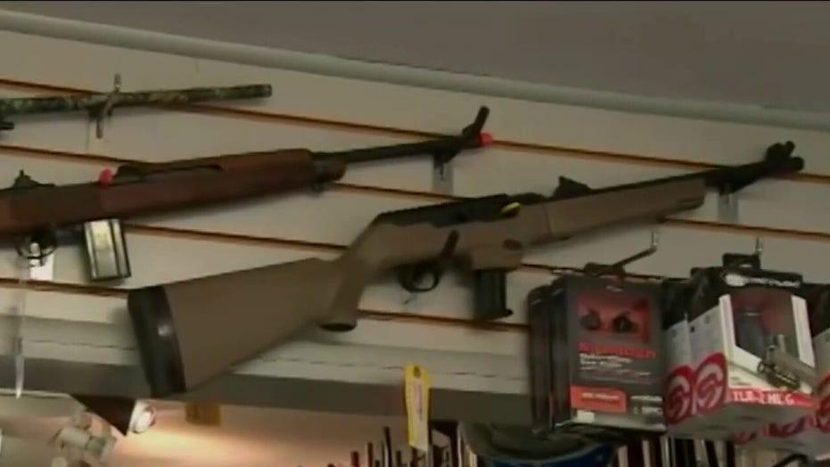 Gun sales skyrocket during coronavirus pandemic