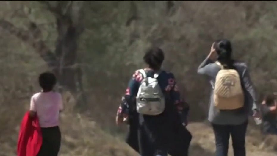 Shocking video released of lost migrant child dumped near Rio Grande