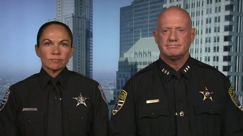 Illinois officer says she lost job protecting local high school over defense of thin blue line patch