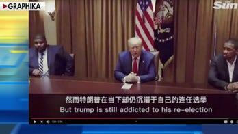 Fake Chinese social media accounts target Trump with English-language videos