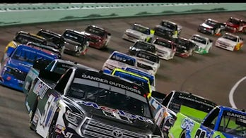 NASCAR fans return to the stands for the Dixie Vodka 400