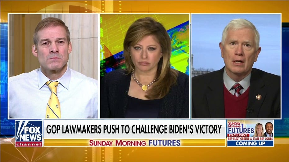 Reps. Brooks and Jordan on GOP group challenging Electoral College results