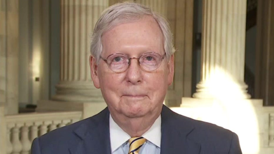 Mitch McConnell says negotiations on COVID relief are progressing but two sides remain 'long way apart'