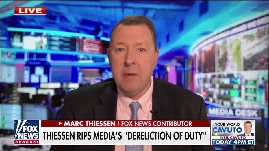 Marc Thiessen slams media 'dereliction of duty' on China, COVID origins