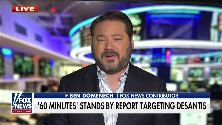 '60 Minutes' acknowledges criticism on DeSantis segment but doesn't retract story panned as 'shoddy hit piece'