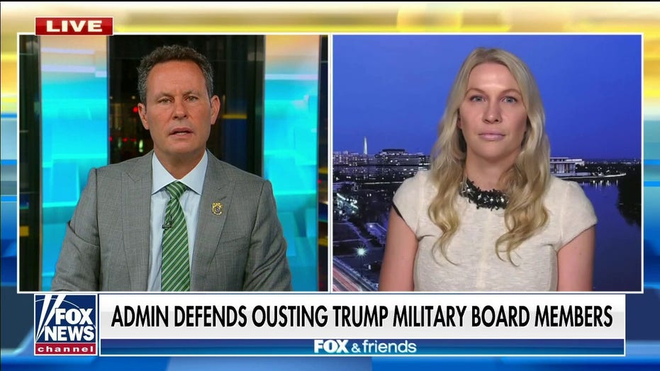 Army veteran 'absolutely not' resigning after Biden's attempt to oust Trump appointees from military panels