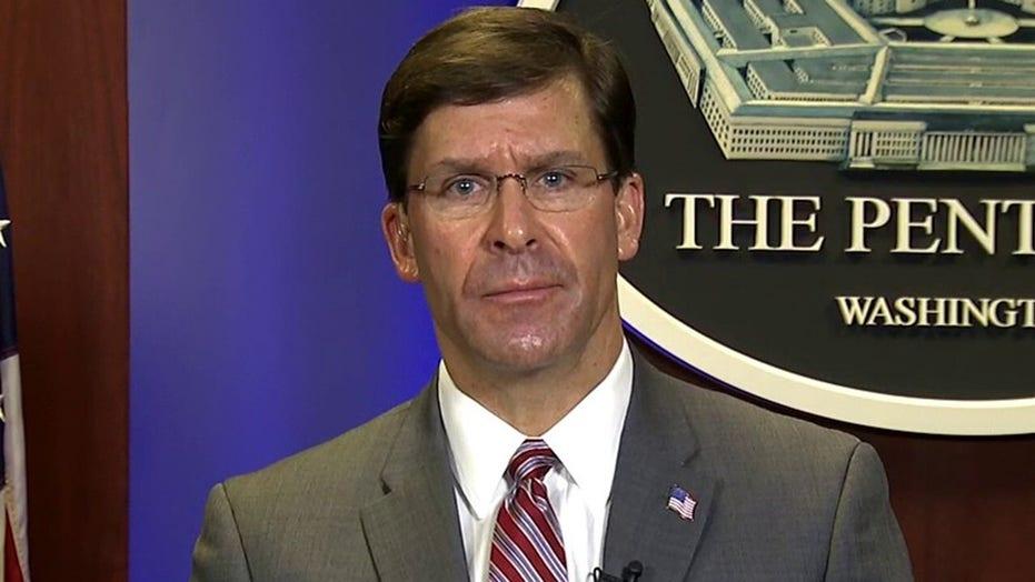 Defense Secretary Esper on military's role in fight against coronavirus
