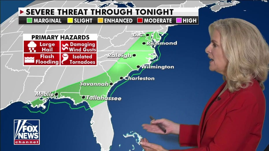 National weather forecast: Destructive storms to finally exit East Coast
