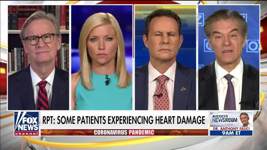 Dr. Oz on how COVID-19 impacts the heart