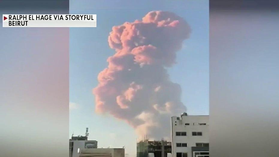 Massive explosion rocks Lebanon's capital