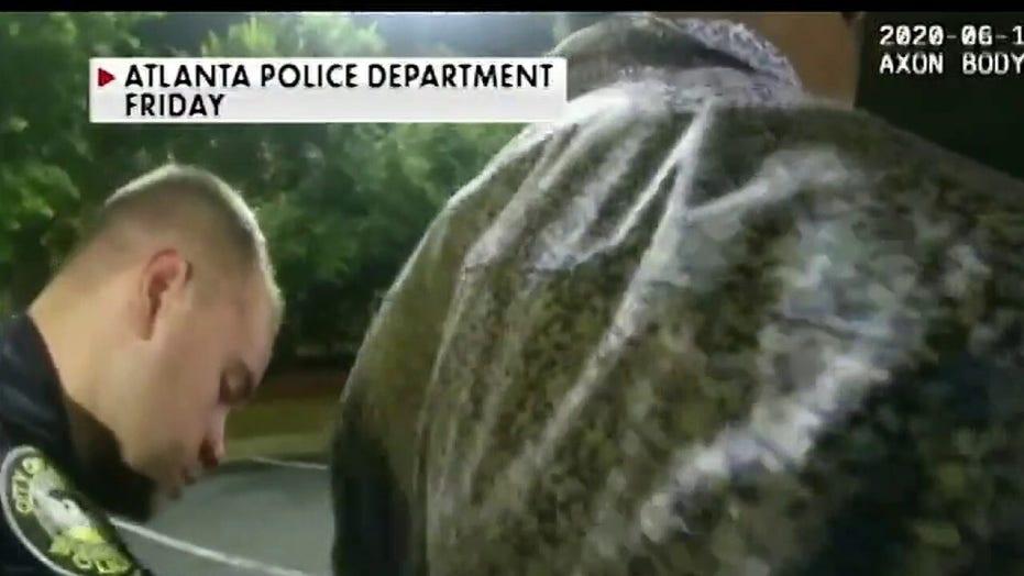 Atlanta police release body camera video in Rayshard Brooks shooting