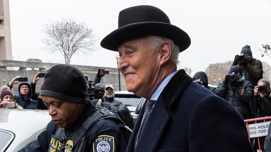 Democrats warn against a pardon of Roger Stone