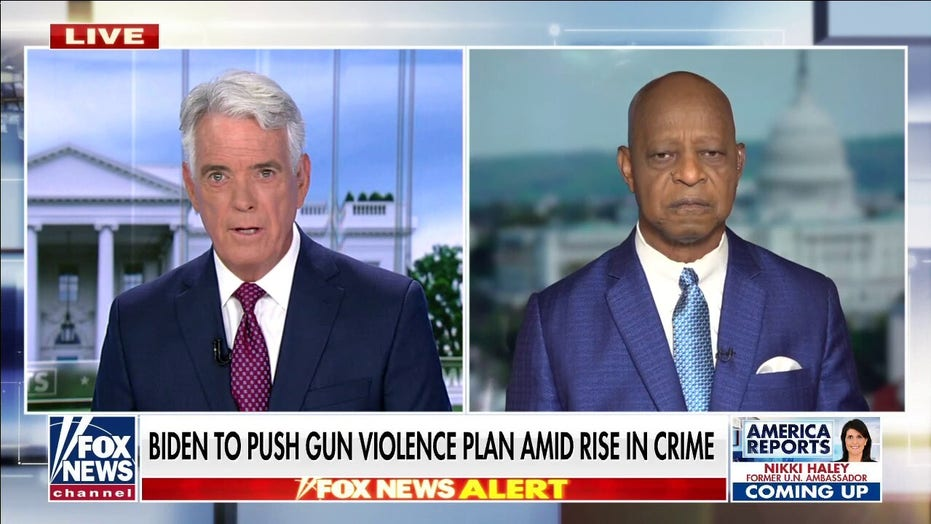 Biden gun violence plan uses federal dollars to undo 'defund police,' aims to put 'more officers on the beat'