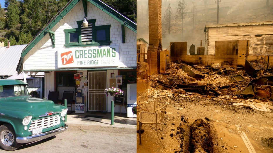 California wildfire destroys family's iconic store and house hours apart