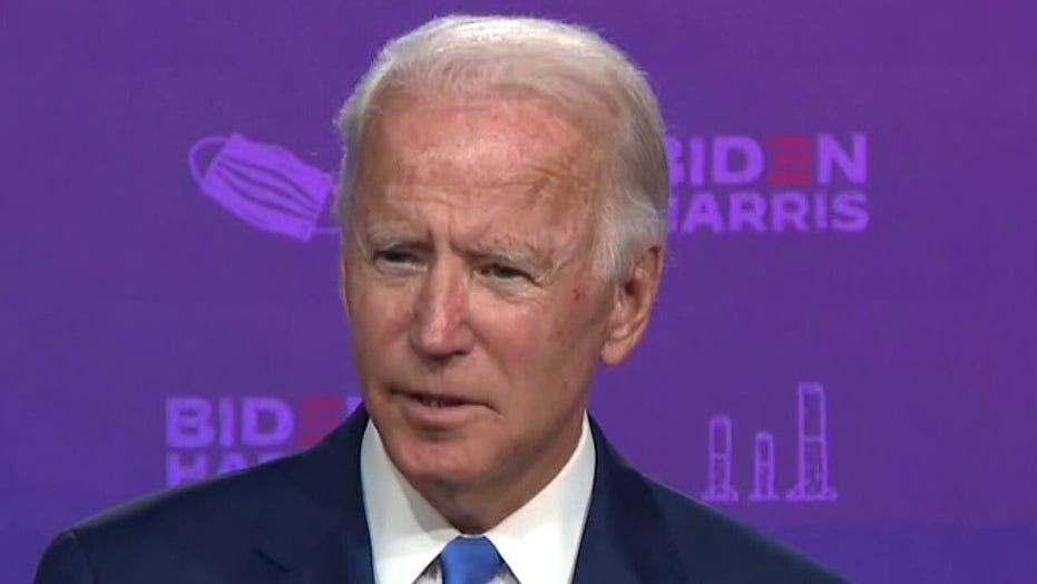 Joe Biden explains purpose of visit to Kenosha, Wisconsin
