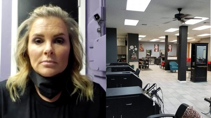 Exclusive: Dallas salon owner fights to keep her business open despite threats of arrest