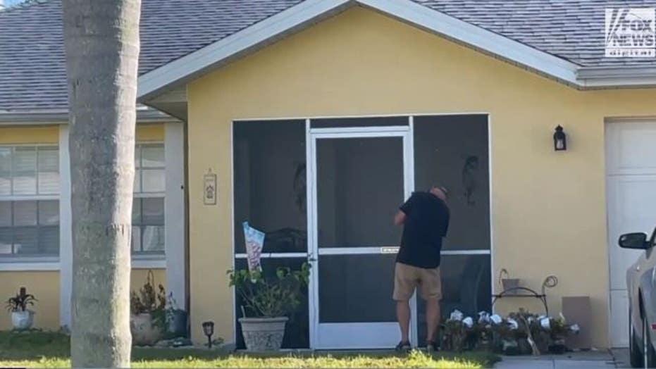 Brian Laundrie manhunt: Chris Laundrie installs apparent doorbell camera