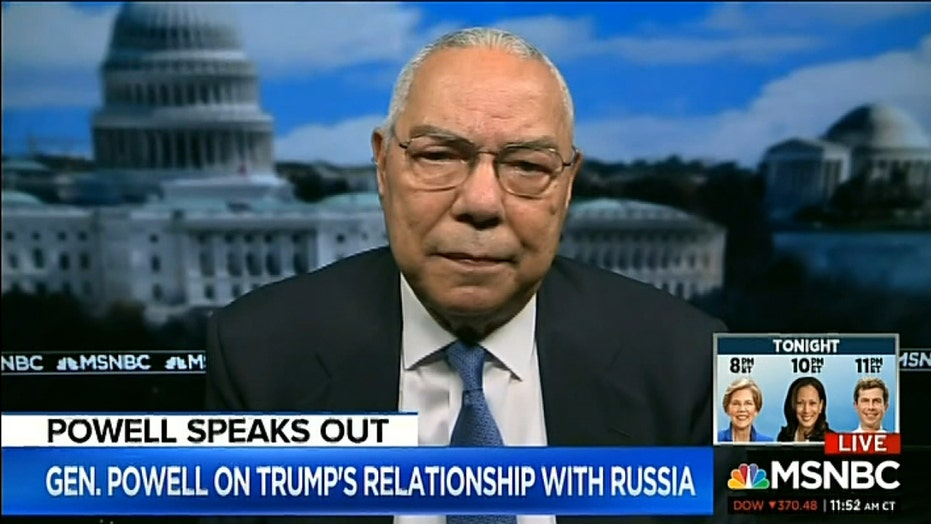 Colin Powell on Russia bounty story: Coverage became 'almost hysterical'