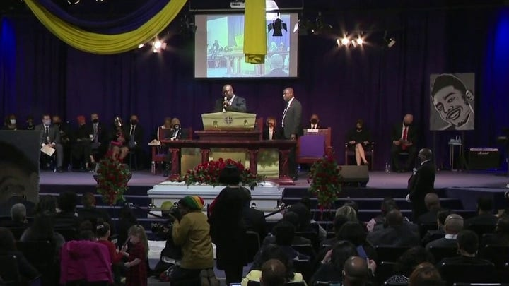 Daunte Wright funeral held in Minneapolis