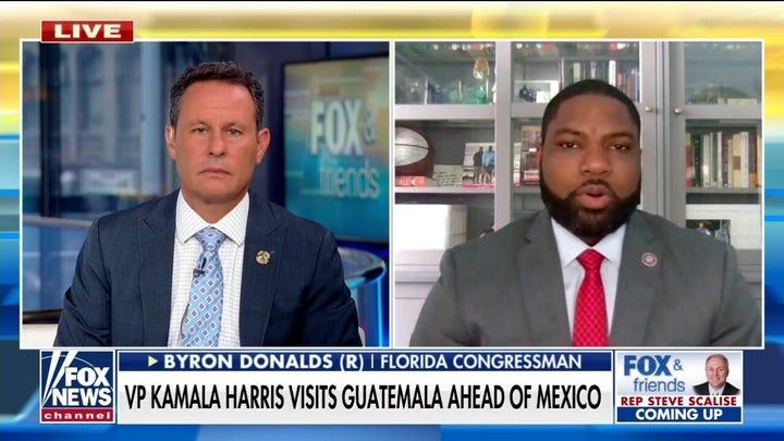 Byron Donalds slams Kamala Harris for visiting Guatemala, failing to address Mexican cartels