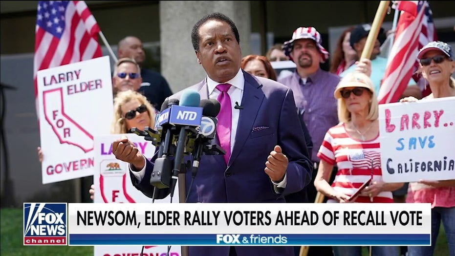 Leo Terrell: Democrats are afraid of Larry Elder because he doesn't fit their narrative