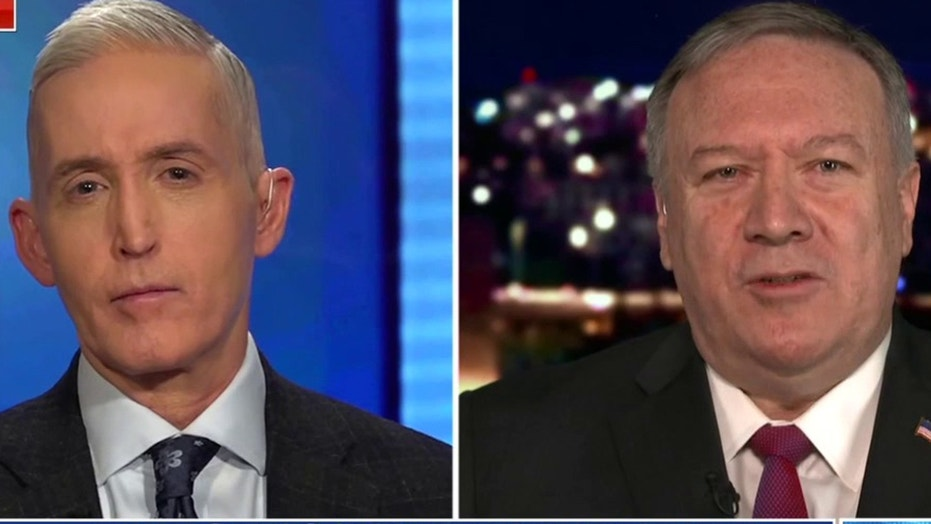 Pompeo on Biden declaring 'America is back': 'Back to when ISIS controlled a caliphate'?