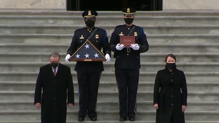 Fallen Capitol Police officer Brian Sicknick laid to rest