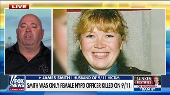 Husband of only female NYPD officer killed on 9/11 rips Democrats' 'defund police' rhetoric
