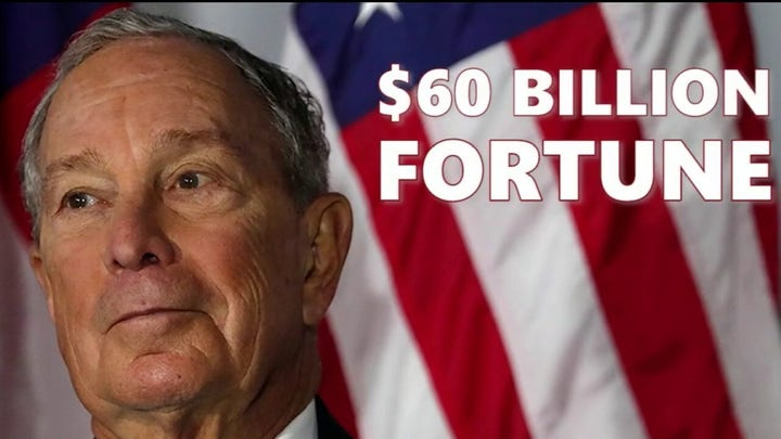 Mike Bloomberg says he's willing to spend whatever it takes to beat President Trump