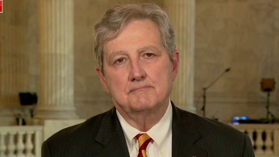 Sen. John Kennedy tells 'defund the police' supporters: 'Next time you get in trouble, call a crackhead'