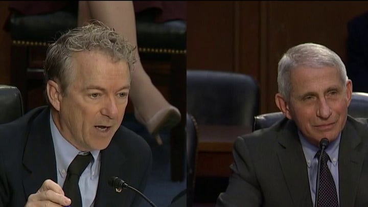Rand Paul takes on Dr. Fauci in heated debate over mask wearing