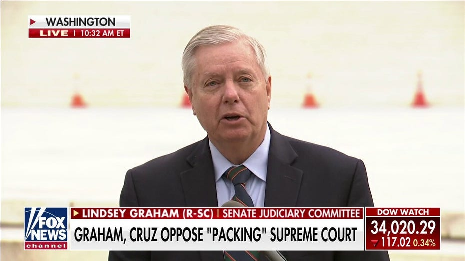 GOP senators say Dems trying to 'rig' SCOTUS through court-packing, ask Biden to rein in party's 'crazies'