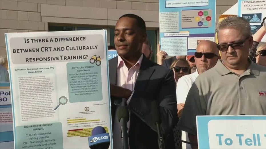 Virginia parents rally to recall critical race theory-pushing school board members