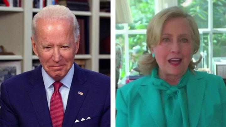 Hillary Clinton: We need a leader like Joe Biden