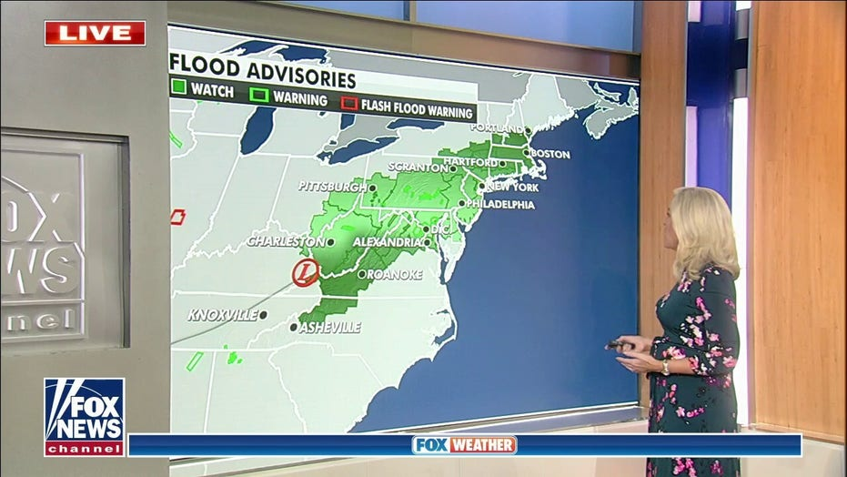 1 person missing in Virginia after Tropical Depression Ida soaks state's southwest