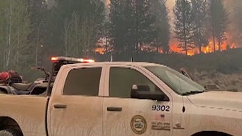 Battle against Oregon wildfires fought with short supply of air support after 6 Chinooks sent to Afghanistan