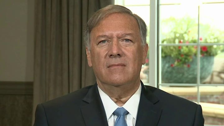 Mike Pompeo calls out Biden for 'pathetic blame shifting' on Afghanistan